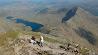 Mount Snowdon on Google Street View