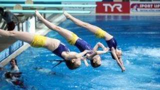 Чемпионат Европы по прыжкам в воду в Киеве