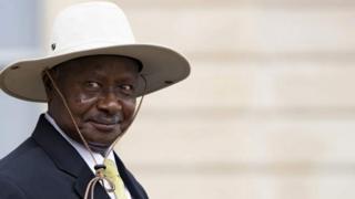 Shugaban Yuganda Yoweri Museveni