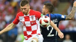 फ्रांस बनाम क्रोएशिया