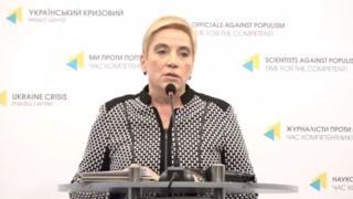 Керівниця Департаменту фінансового контролю та моніторингу способу життя НАЗК Ганна Соломатіна