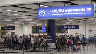 UK border passport checks