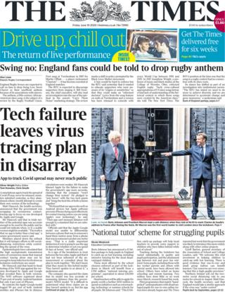 The Times 19 June