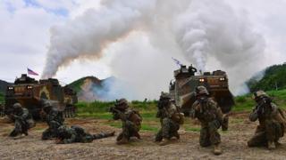 다음 한미 연합군사훈련은 올 8월에 예정돼 있다