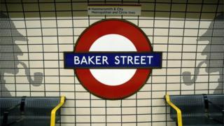 Baker Street Tube station platform