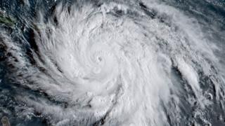 Hurricane Maria on Tuesday
