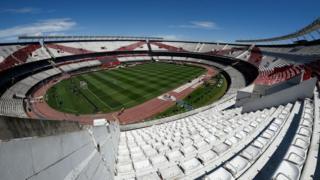 River Plate stadium