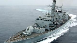 kapal Inggris