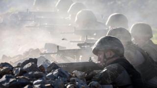 Kuzey Irak'taki Türk askerleri