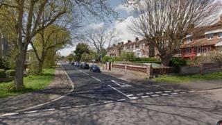 St Augustine Road in Littlehampton
