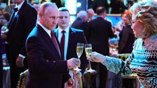 Putin and Matvienko