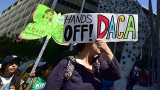 Protesters rallied in Los Angeles over the weekend