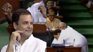 राहुल गांधी, नरेंद्र मोदी