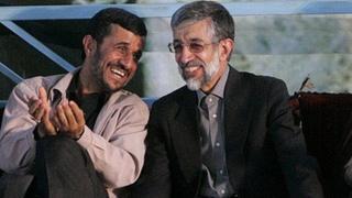 حداد عادل و احمدینژاد