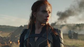 Image taken from the new Black Widow trailer