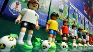 Juguetes de las selecciones participantes en Rusia 2018