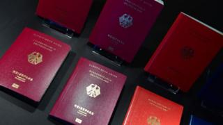 German passports