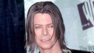 David Bowie in 1999