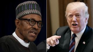 Àworan Buhari ati Trump