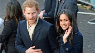 Prince Harry and Ms Markle