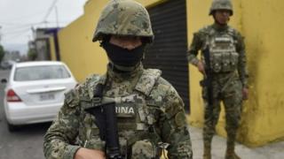 Marines en Ciudad de México
