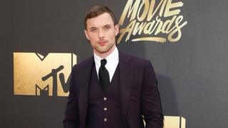 Actor Ed Skrein attends the 2016 MTV Movie Awards at Warner Bros. Studios on April 9, 2016 in Burbank, California