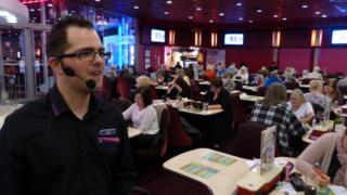 bingo caller in Nottingham