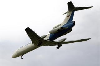 A Tu-154 (file photo)