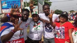 Magoya bayan jam'iyyun siyasar Ghana