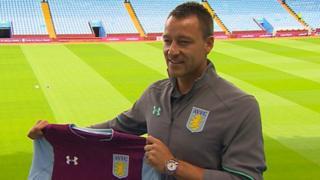John Terry da rigar Aston Villa