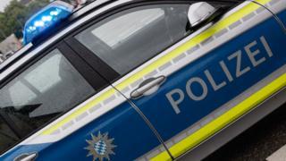 Police car in Bavaria (file pic)