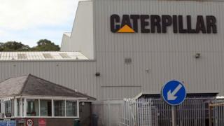 Caterpillar factory