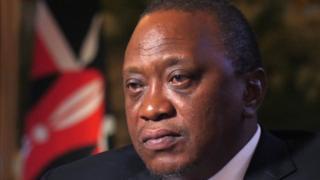 Mid ka mid ah tuugada ayaa iska dhigay madaxweyne Uhuru Kenyatta