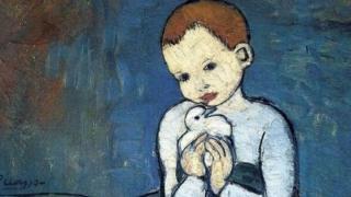 الطفل والحمامة