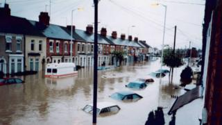 Northampton floods