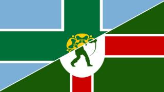 Flags of Derbyshire and Nottinghamshire