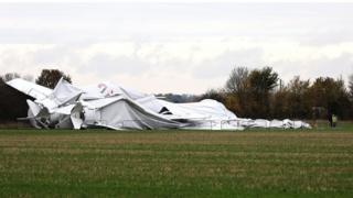 collapsed airlander