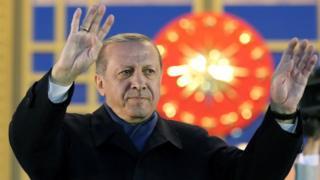 Recept Tayyip Erdogan.