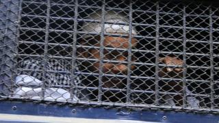 Prison van in Bangladesh