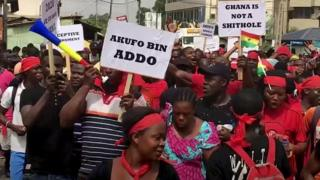 Ghana protesters