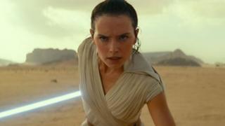 Skywalker'ın Yükselişi filminden bir sahne