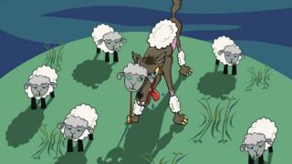 волки-овцы