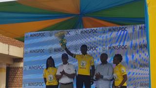 Areruya Joseph ashinda mbio za baiskeli za Tour of Rwanda