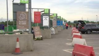 Recycling centre in Oxfordshire