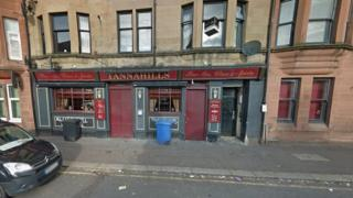 Tannahills pub in Paisley