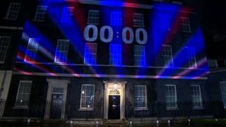 The moment the UK left the EU