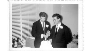 The mystery photos of a 1957 gay wedding