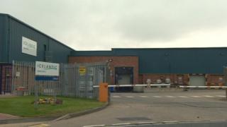 Icelandic Seachill warehouse