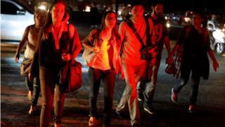 blackout in Caracas