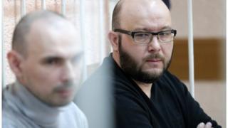Александр Никитин и Игорь Полозиненко